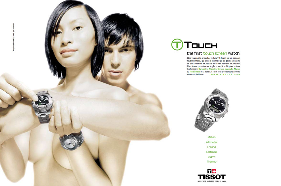 TISSOT T-TOUCH INTERNATIONAL ADV CAMPAIGN