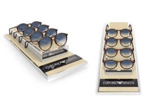 EMPORIO ARMANI 4 PIECES TRAY DISPLAY