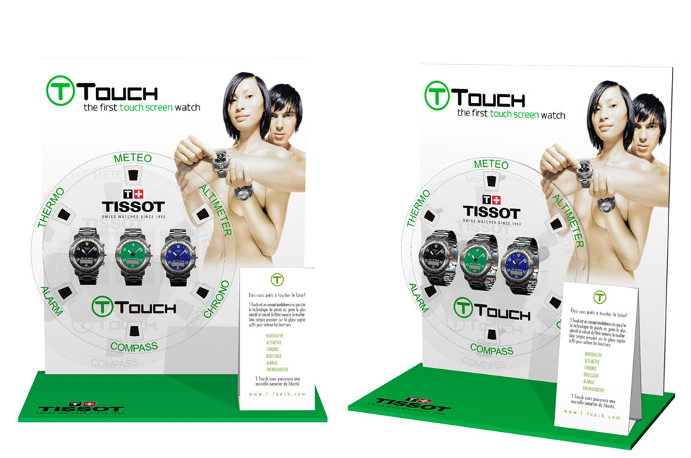 TISSOT T-TOUCH DEDICATED DISPLAY