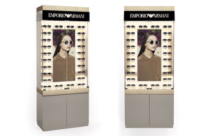 EMPORIO ARMANI BACKWALL DISPLAY