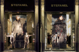 STEFANEL SHOP WINDOW