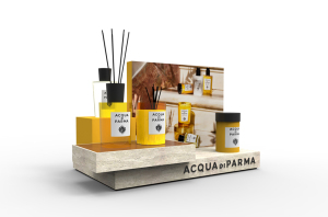 Acqua di Parma Home Fragrance Display