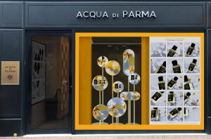 ACCQUA DI PARMA SIGNATURE SHOP WINDOWS Paris