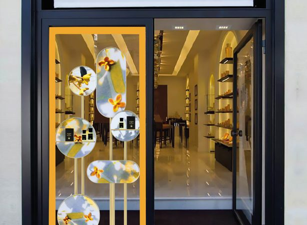 ACCQUA DI PARMA SIGNATURE SHOP WINDOWS Rome