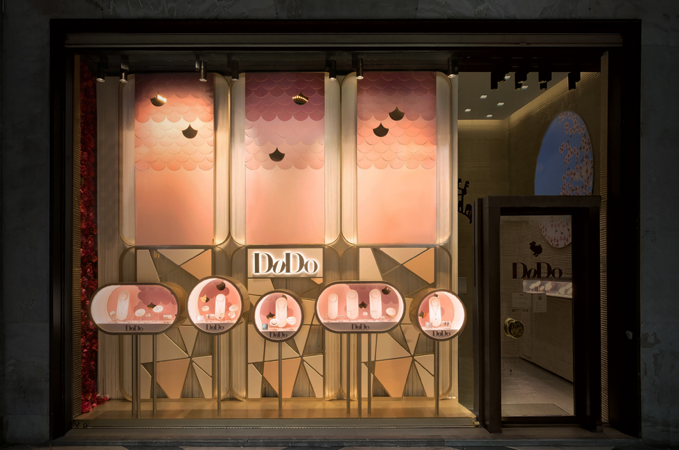 DODO Jewels Bollicine Shop Windows