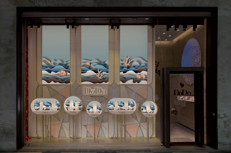 DODO Jewels GRANELLI Shop Windows Design